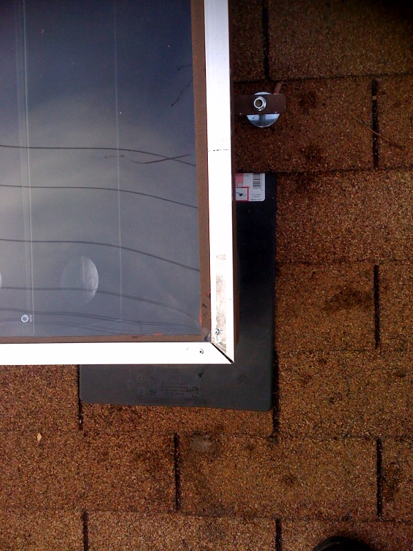 solar panel installation step 7